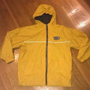 The Black Dog Classic Rain Jacket Yellow
